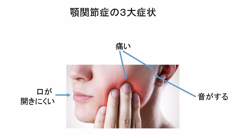 片方 突然 痛い 顎